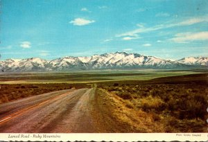 Nevada Ruby Mountains Lamoil Road 1971