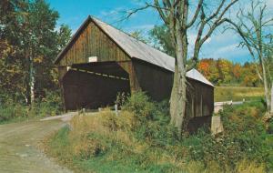 Covered Bridge between Bridgewater and Woodstock VT, Vermont