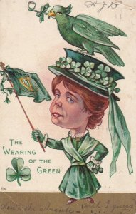 The Wearing of the green , 1908