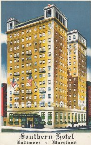 BALTIMORE , Maryland, 1930s ; Southern Hotel