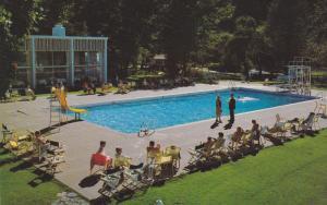 Swimming Pool, Harrison Hot Springs, British Columbia, Canada, 40-60´s