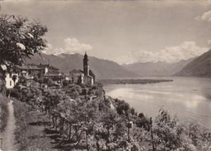 Switzerland Ronoc s/Ascona 1949 Real Photo