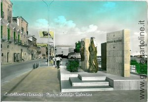 04083 CARTOLINA d'Epoca - TARANTO - CASTELLANETA