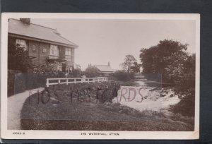 Yorkshire Postcard - The Waterfall, Ayton     HM603