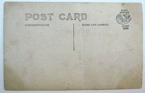 RPPC VINTAGE PHOTO POSTCARD 1911 WILMERDING PA TRAIN STATION FLOOD railroad