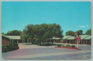 Canyon Texas~Buffalo Motel~US Hwy 87~Buffalo Neon Vacancy Sign~1960s