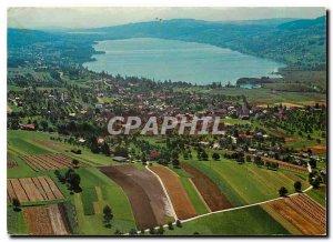 Postcard Modern Hallwilersee Schweiz