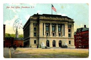 RI - Providence. New Post Office