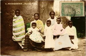 CPA Famille hova MADAGASCAR (709622)