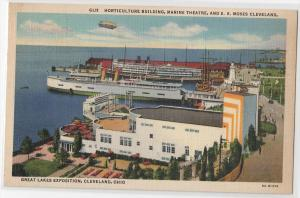 Horticulture Building, Marine Theatre &amp SS Moses, Cleveland OH