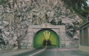 China Bar Tunnel, 2,090 Feet Long, Near Boston Bar, British Columbia, Canada,...
