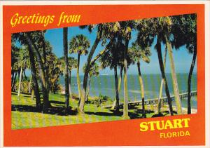 Greetings From Stuart Florida Showing Indian River