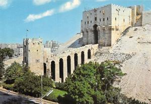 Syria Alppo Castle Chateau Schloss