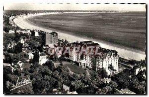Old Postcard La Baule Loire Atlantique Panoramic Bay Hotel Hermitage
