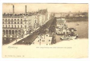 Hamburg , Germany , 1890s Waterfront