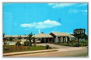 Crossroads Motel Perry Georgia Vintage Standard View Postcard