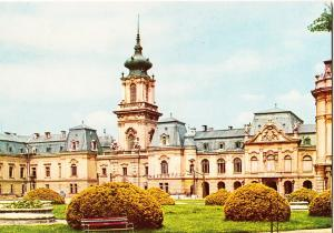 Hungary, KESZTHELY, Castle, 1973 used Postcard