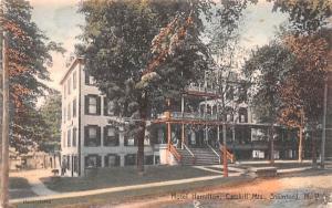 Hotel Hamilton Stamford, New York Postcard