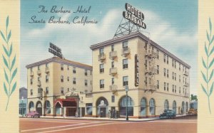 SANTA BARBARA , California  , 30-40s ; The Barbara Hotel