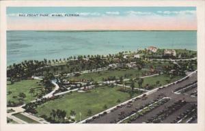 Florida Miami Aerial View Bay Front Park