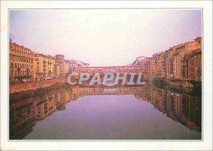 Postcard Modern Italy Florence Ponte Vecchio
