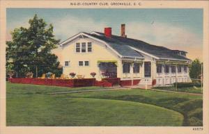 Country Club Greenville South Carolina 1945