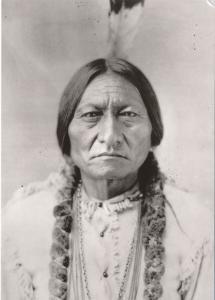 Sitting Bull Sioux Indian Medicine Man - 1885 photo - Western USA Recent Print