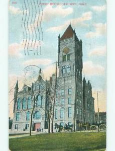 Divided-Back COURT HOUSE Ottumwa Iowa IA n4865