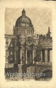 Berlin Germany, Deutschland Postcard Schloss  Schloss
