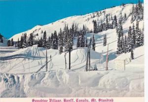 One of the many ski slopes at Sunshine Village, Banff, Alberta, Canada, 50-70