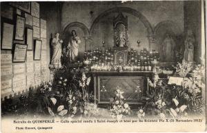 CPA Retraite de QUIMPERLÉ - Caife spécial rendu a St-Joseph et (206671)