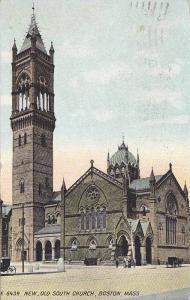 New,  Old South Church,  Boston,   Massachusetts,  PU_1912