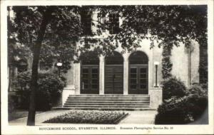 Evanston IL Roycemore School Real Photo Postcard #2