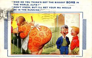 Comic - Biggest Bomb #790 Bamforth Comic Series