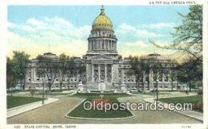 Boise, Idaho, ID State Capital USA Unused light wear
