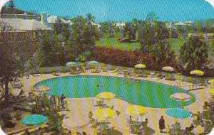 Bermuda Bedroom View Of Bermudian Pool and Garden 1961
