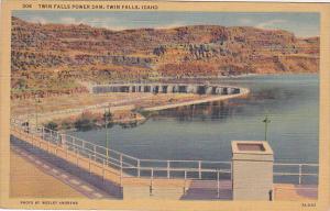 Twin Falls Power Dam, TWIN FALLS, Idaho, 30-40's