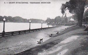 SAINT-HYACINTHE , Quebec , Canada , 40-60s ; Terrasse Mercier