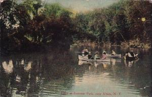 New York Utica Lake At Summit Park 1911