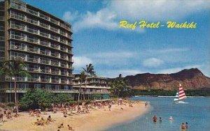 Hawaii Oahu Waikiki Beach Diamond Head and The Reef Hotels