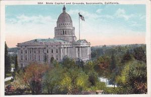 California Sacramento State Capitol And Grounds