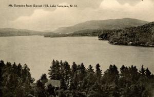 NH - Lake Sunapee. Lake & Mountain from Garnet Hill.