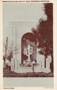 Texas Dallas Administration Building At Texas Centennial Exposition