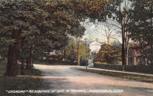 Ridgefield Connecticut~George M Olcott Mansion~Casagmo~Perfume Maker~1910 PC
