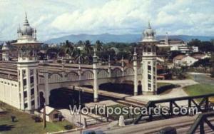 Malaysia, Malaya Kuala Lumpur Railway Station