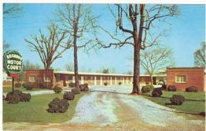 Boxwood Motor Court, Yadkinville, North Carolina, PU-40-60s