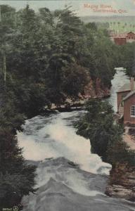 Scenic view,  Magog River,  Sherbrooke,  Quebec,  Canada,   PU_1910