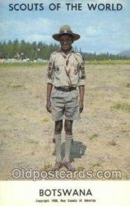 Botswana Boy Scouts of America, Scouting Copyright 1968 Unused
