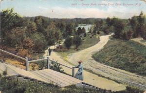 ROCHESTER, New York, PU-1908; Seneca Park, Showing Trout Lake