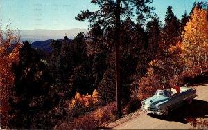New Mexico Santa Fe Aspens Above Hyde Park 1961